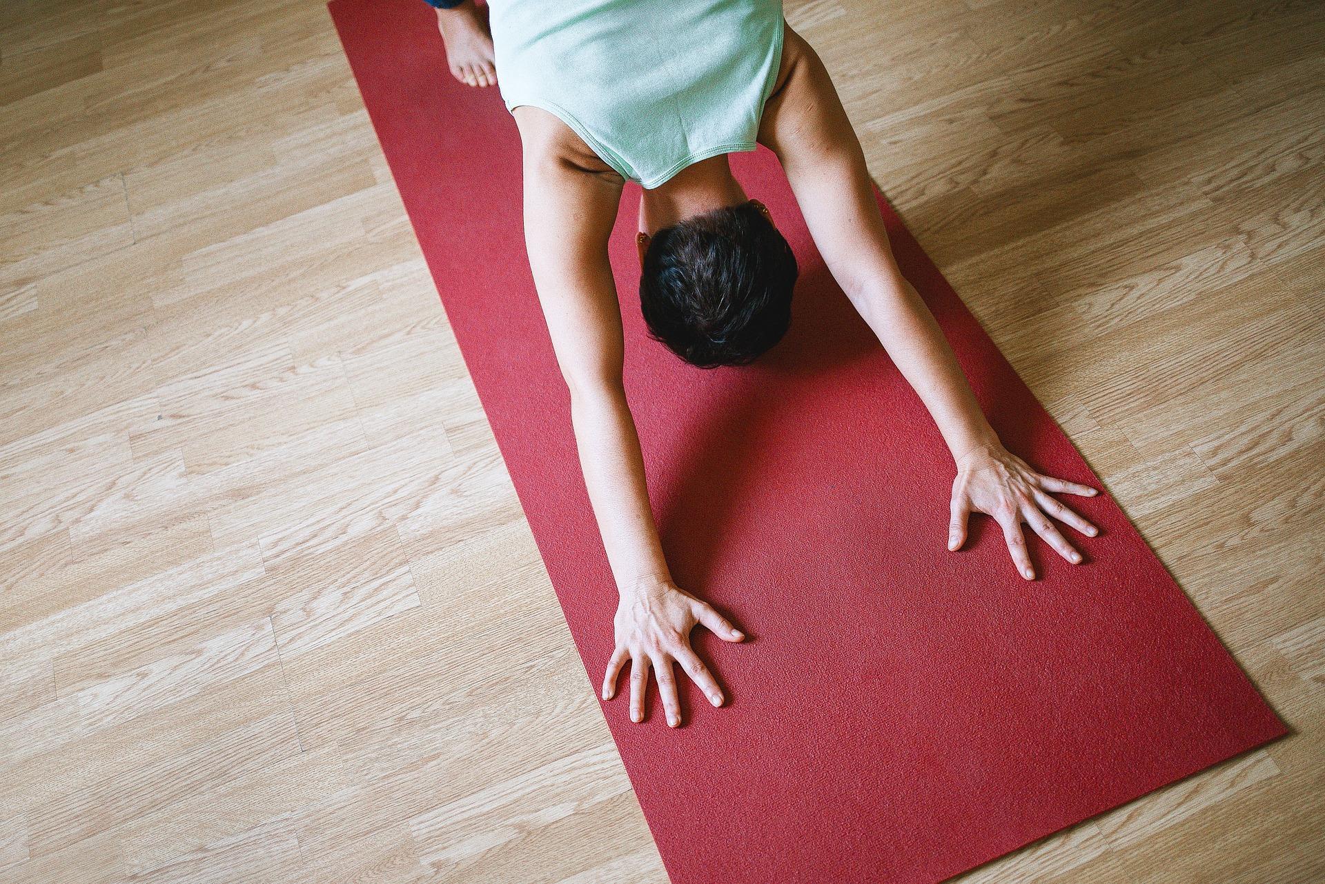 12 yogaposes voor absolute beginners