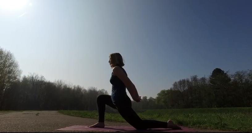 Yoga voor schouders en nek